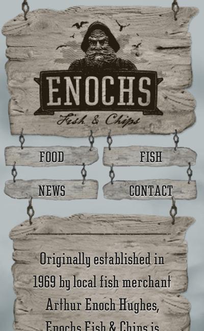Enochs Fish & Chips, Llandudno