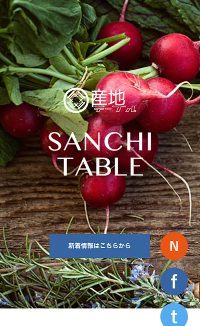 産地テーブル