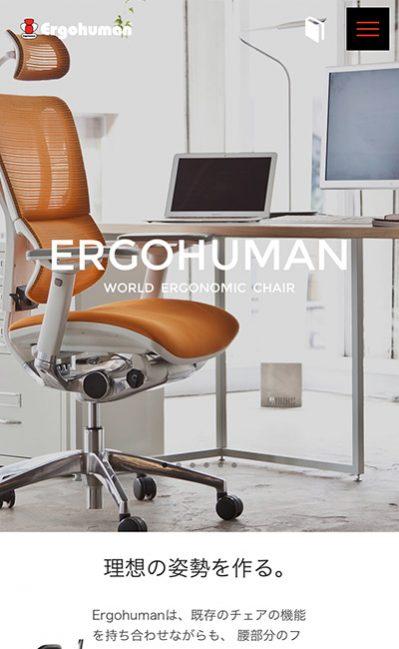 エルゴヒューマン専門店|Ergohuman Pro Shop