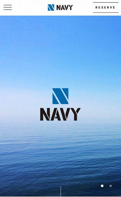 NAVYのレスポンシブWebデザイン