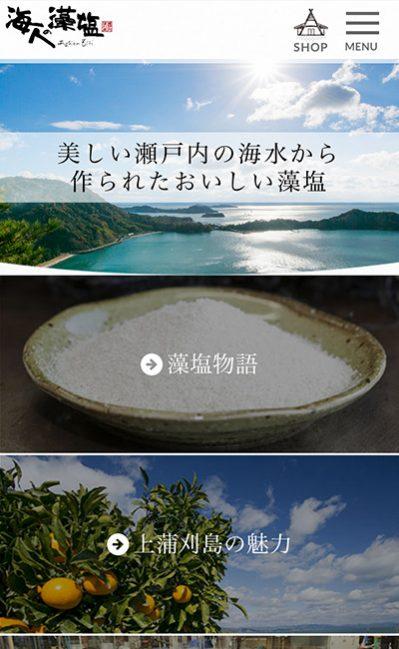 海人の藻塩(あまびとのもしお)