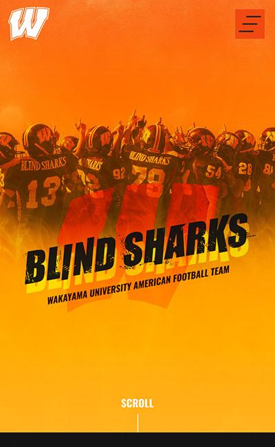 和歌山大学アメリカンフットボール部 BLIND SHARKS